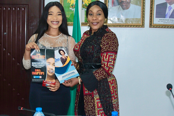 30830726 960941944070600 2298305247119933440 n - PHOTOS: Tonto Dikeh named Brand Ambassador for NAPTIP