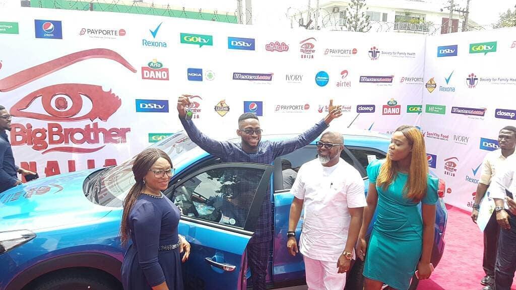 30855207 1923838321260820 3304709890953445376 n - #BBNaija 2018 Winner Miracle Igbokwe Receive his Car & 25Million Naira Cheque
