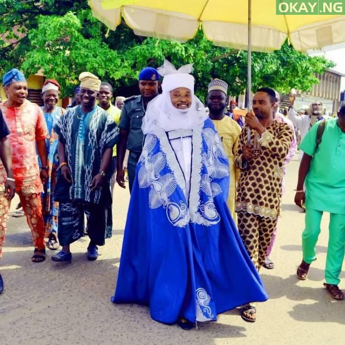 The Oluwo of Iwo land, Abdulrasheed Akanbi