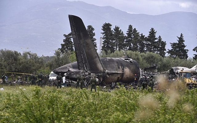 Photo of 257 Killed As Military Plane Crashes After Take Off In Algeria