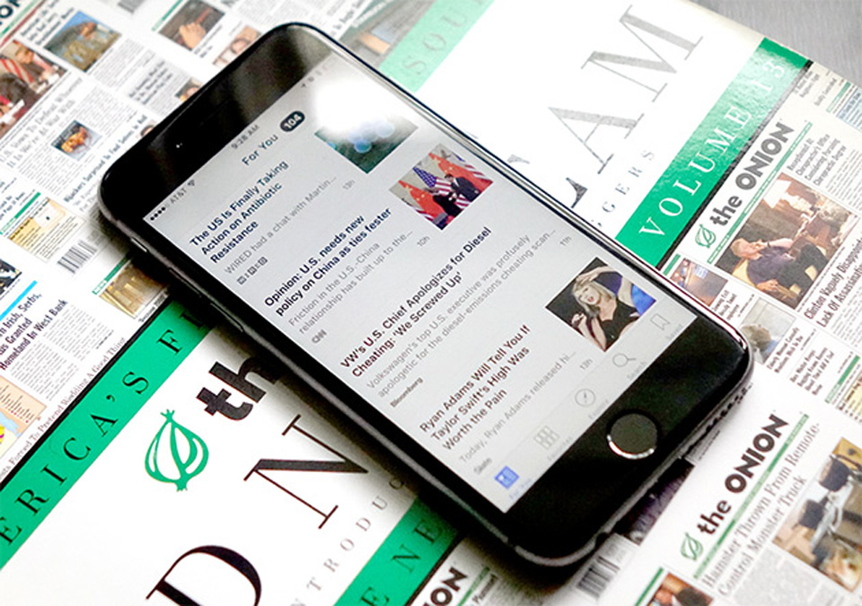 Apple Planning to Launch Subscription News Service