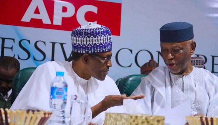 Buhari and John Oyegun