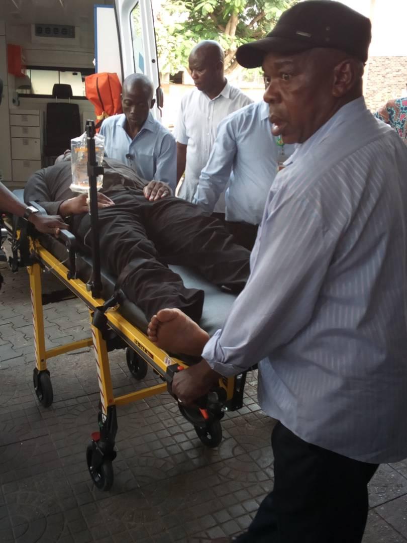 Police Move Dino Melaye to National Hospital, Abuja