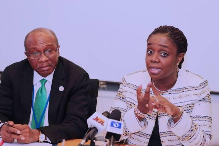 Godwin Emiefele Kemi Adeosun - Nigeria's External Reserves Hit $47.93bn