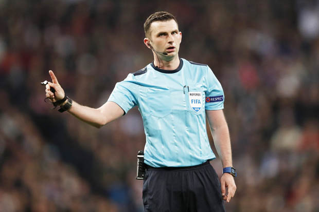 Michael Oliver 698223 - Michael Oliver To Referee FA Cup Final Between Chelsea And Manchester United
