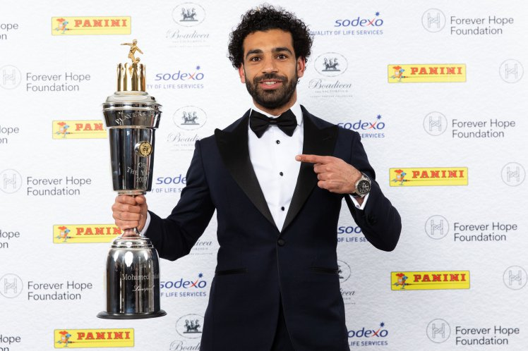 Photo of Mohamed Salah Named PFA Player Of The Year