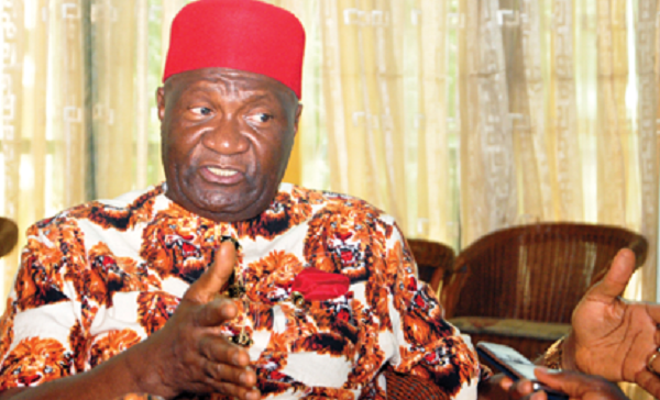 Unknown Hoodlums Explode Bomb at Residence of Nwodo, President of Ohanaeze Ndigbo