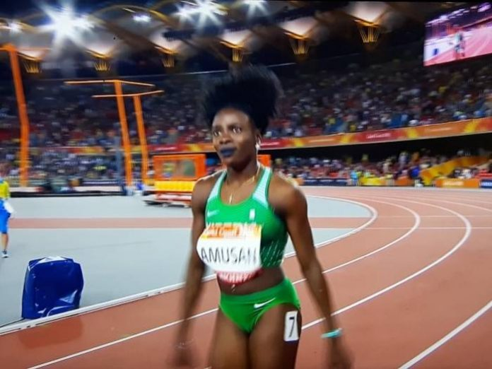 Photo of Nigeria's Amusan Wins Gold in Hurdles Event at Commonwealth Games