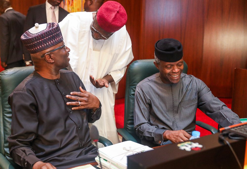 Osinbajo FEC 1 - PHOTOS: VP Osinbajo Presides Over FEC Meeting
