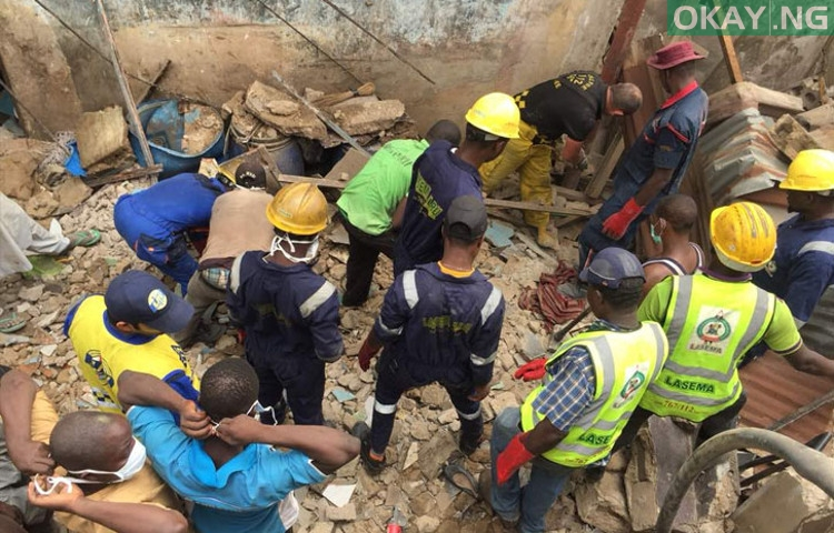 Building Collapse in Agege