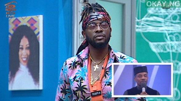 Teddy A Evicted From Big Brother Naija