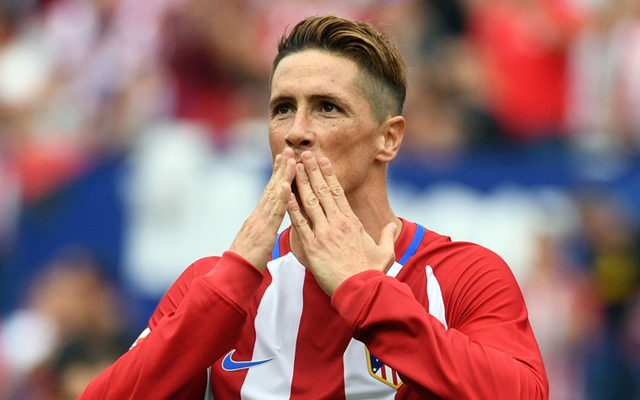 Fernando Torres of Athletico Madrid