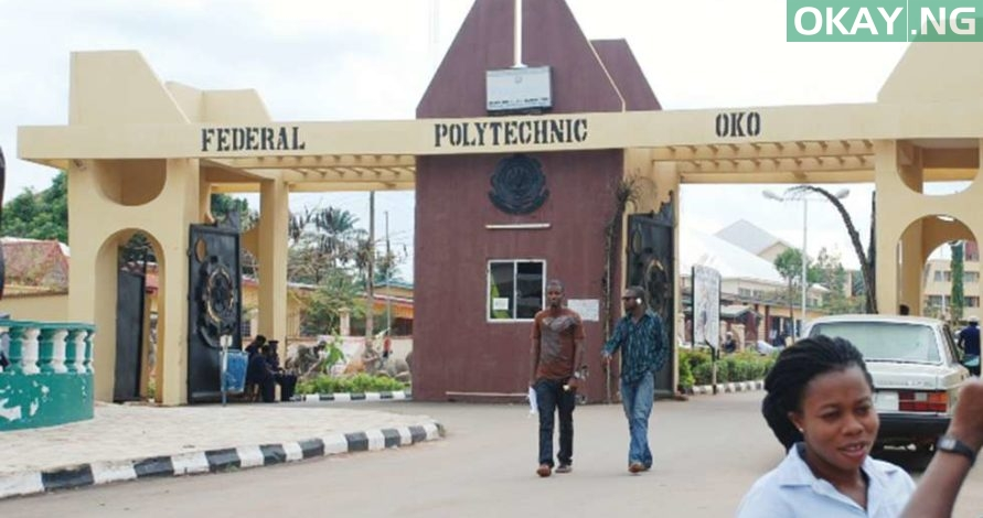 oko poly - Federal Polytechnic Oko 2017/2018 Matriculation Ceremony Date