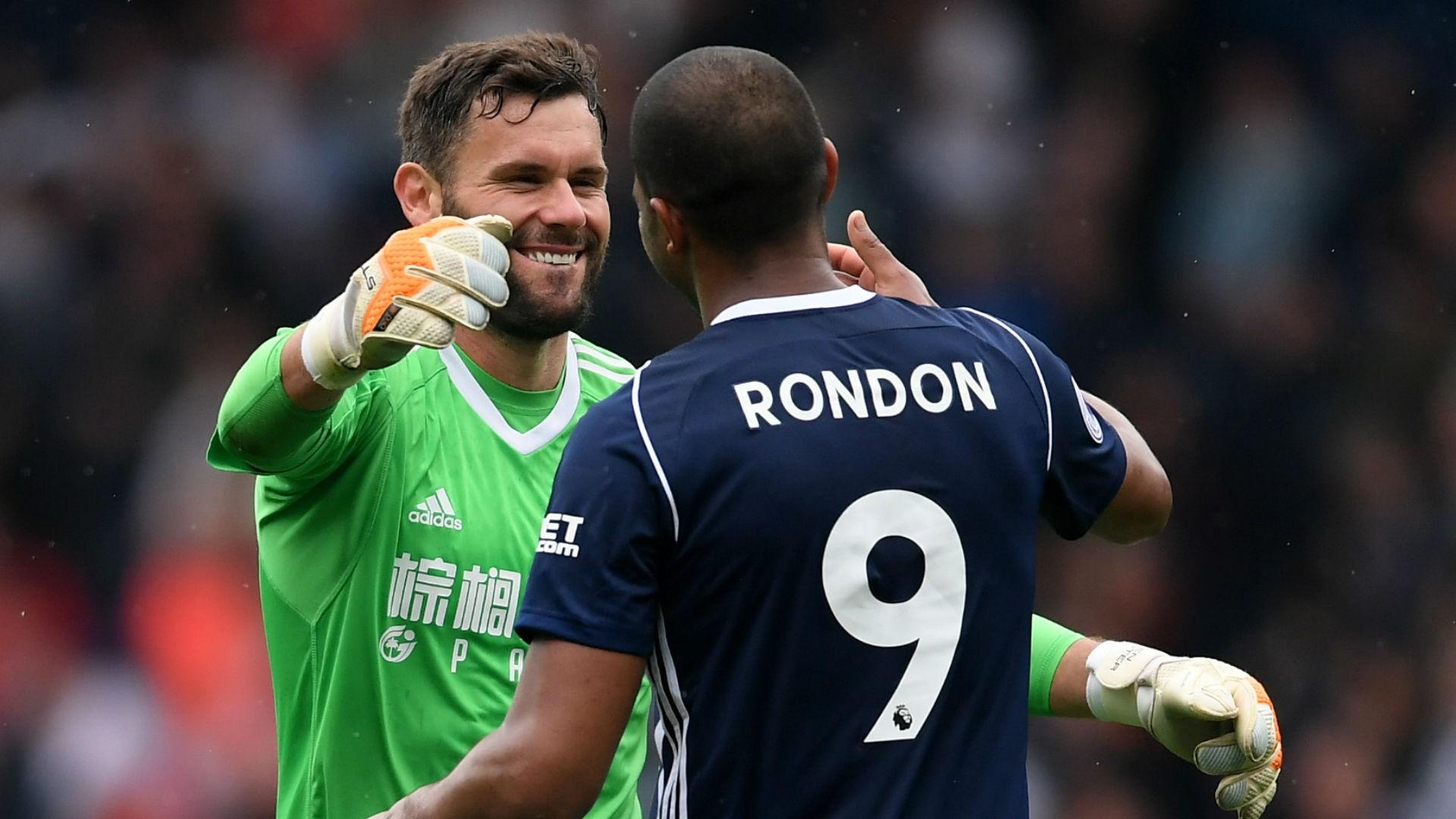 salomon rondon cropped 1t6m6czsp3zn71b0gtbie8tvc5 - VIDEO: West Brom 2-2 Liverpool (Premier League) Highlights
