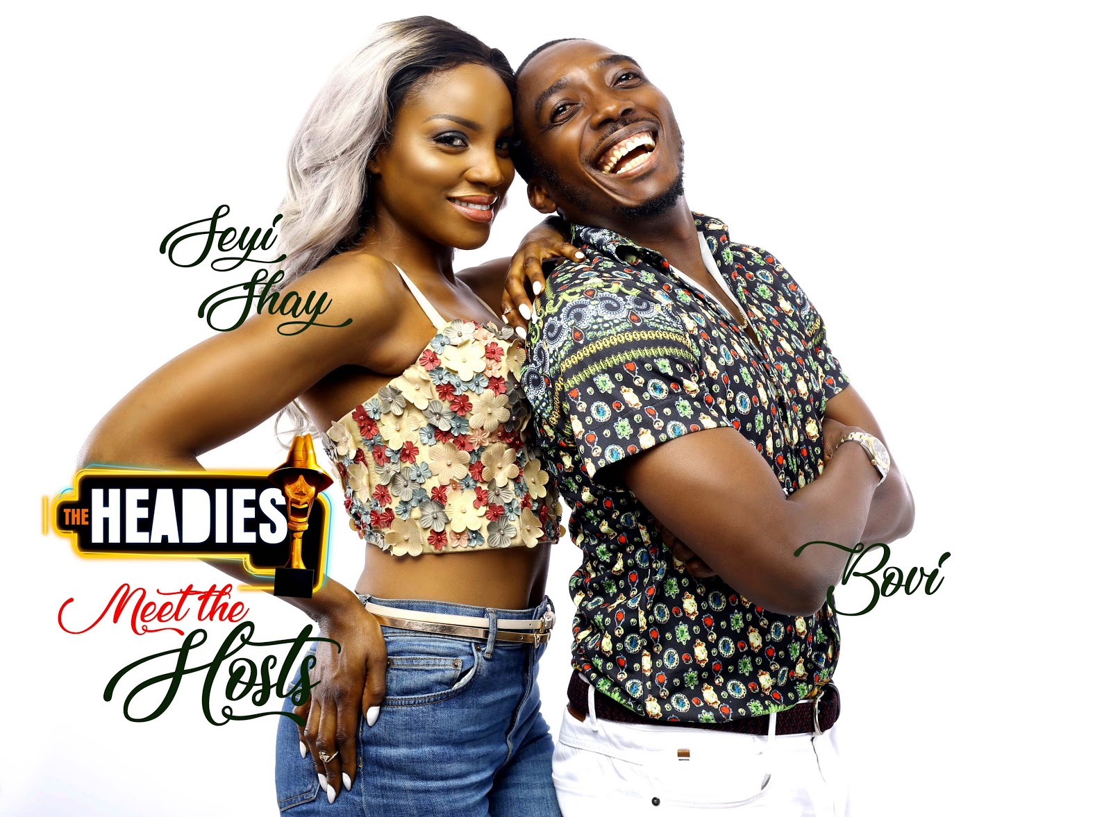 Photo of Bovi and Seyi Shay to Host Headies Awards 2018