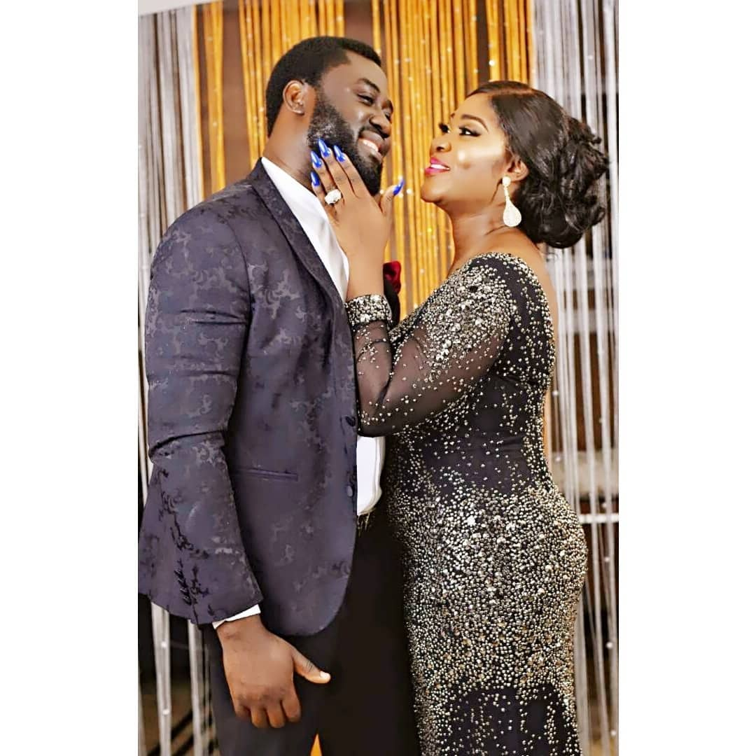 Photo of PHOTO: Nollywood Actress, Mercy Johnson-Okojie celebrates her husband on his birthday