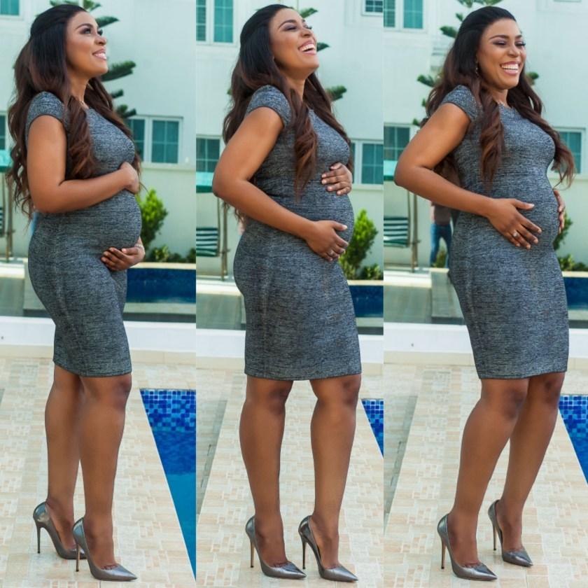 Linda Ikeji Is Pregnant, Shares Baby Bump Photos - OkayNG News