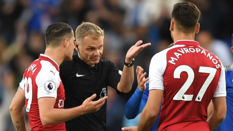 Arsenal Leicester City - Arsenal Fined By FA for Protesting Against Penalty Awarded to Leicester City