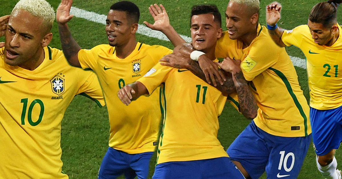 BANNER Brazil beat Bolivia 5 0 - Firmino, Willian, Neymar, Marcelo included in Brazil 's 23 Man World Cup Squad