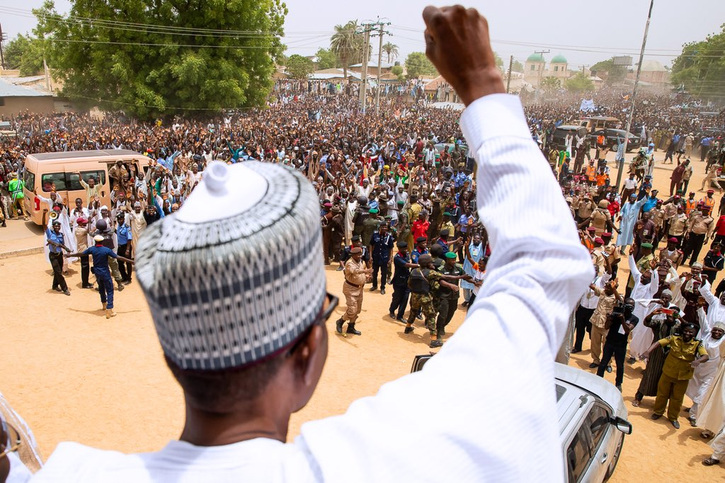 Photo of PHOTOS: President Buhari In Jigawa On Two-day Working Visit