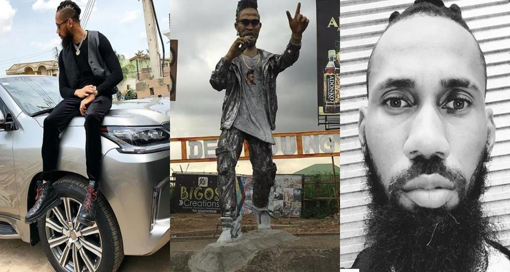 Capture tile 23 - Photos: Phyno Statue Erected in Eleme, Port Harcourt