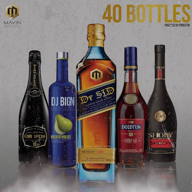 Photo of MUSIC: Dr Sid – 40 Bottles ft. Dj Big N, Shody, King Spesh and Do2DTun
