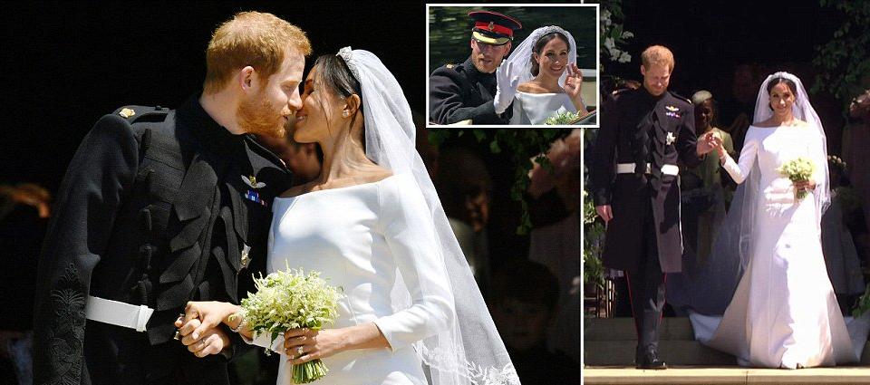 Harry Meg - PHOTOS: Prince Harry, Meghan Markle Declared Husband and Wife