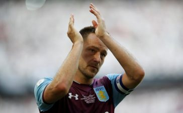 John Terry Leaves Aston Villa