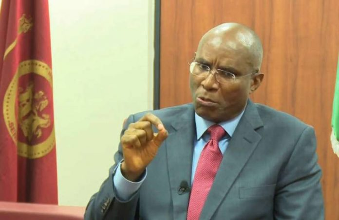 Photo of Senator Omo-Agege Resumes Plenary