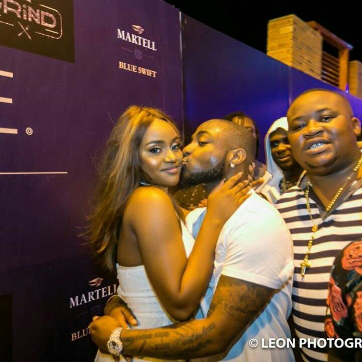 Davido's Girlfriend, Chioma Verified On Instagram