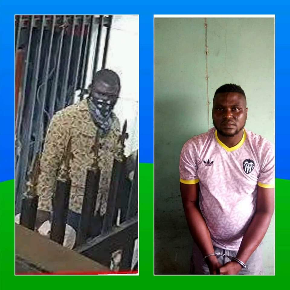 arrested 1 - Police Arrest Most Wanted Offa Bank Robbers
