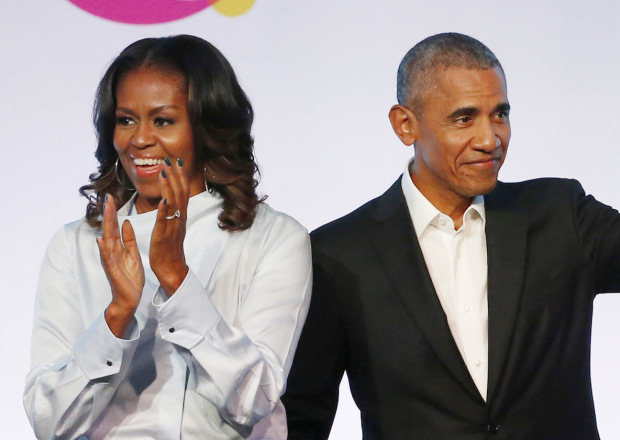 barack obama michelle obama netflix production deal - Barrack Obama, Michelle Obama Sign Production Deal with Netflix