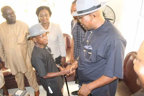 bayelsa commissioner 3 - Africanus Noel, Assumes Office As Child Commissioner for Education In Bayelsa State