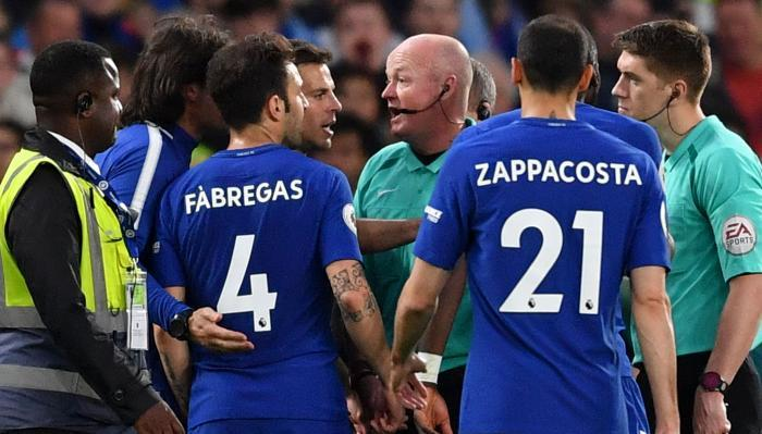 chelsea hud - Chelsea Charged By FA For Players Conduct Against Huddersfield