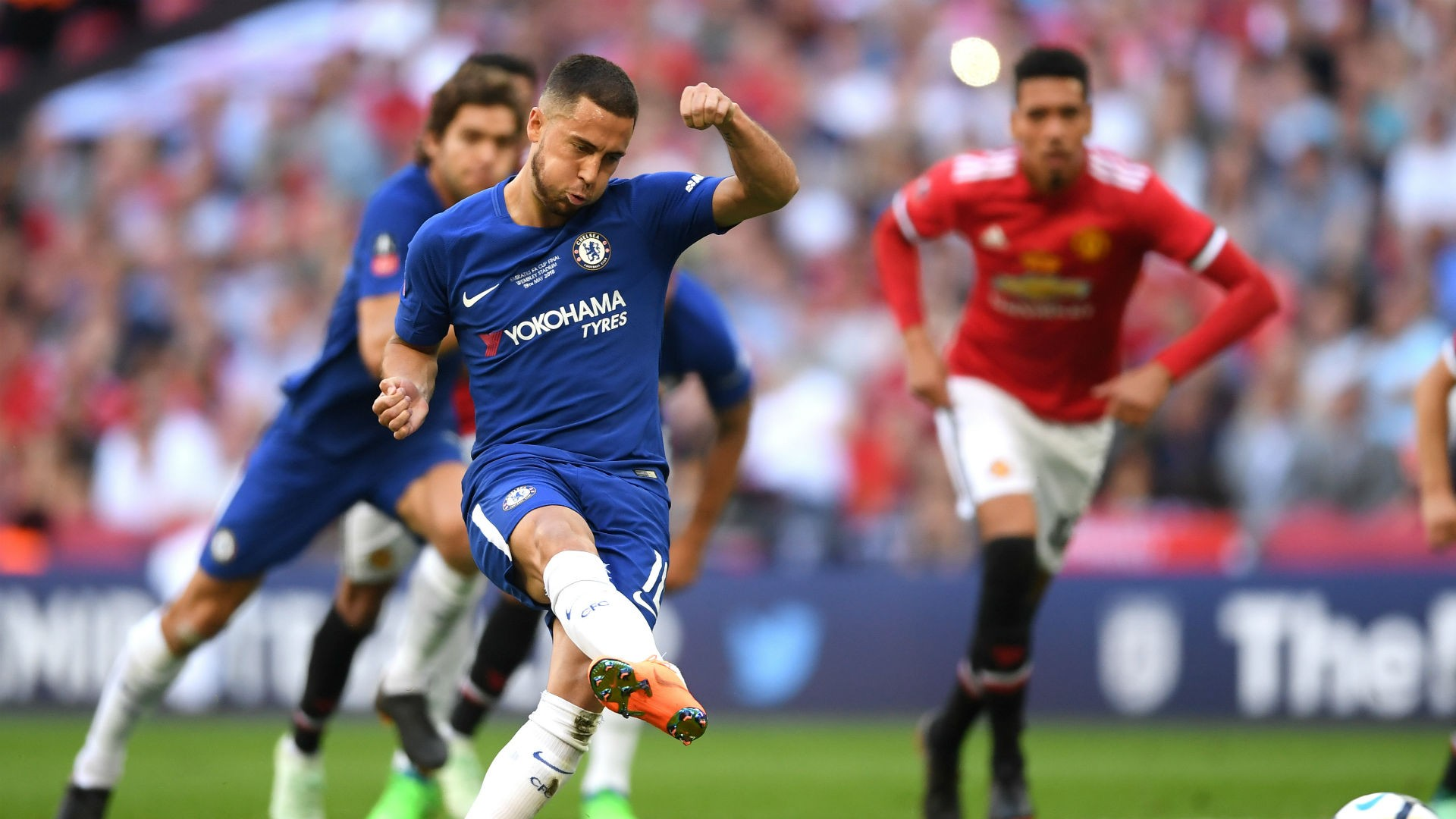 VIDEO: Chelsea 1-0 Manchester United (FA CUP Final) Highlights - OkayNG News