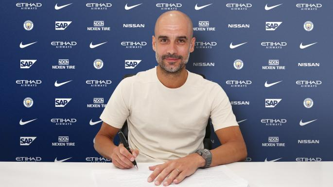 Photo of Pep Guardiola Signs Manchester City Contract Extension Till 2021