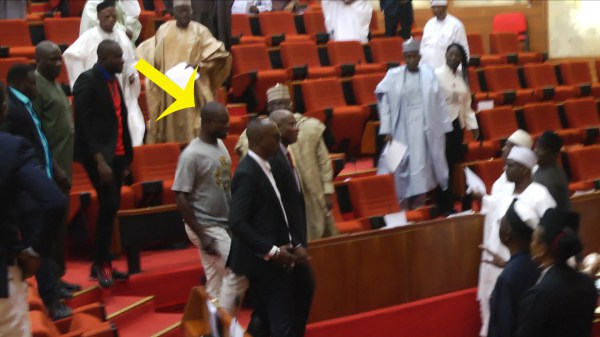 mace theft - National Assembly Investigation Panel Invites Omo-Agege, Ndume Over Mace Theft