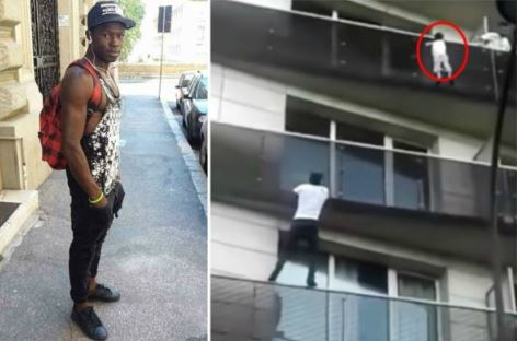 Photo of Man Climbs Four-storey Building to Save Boy In Paris