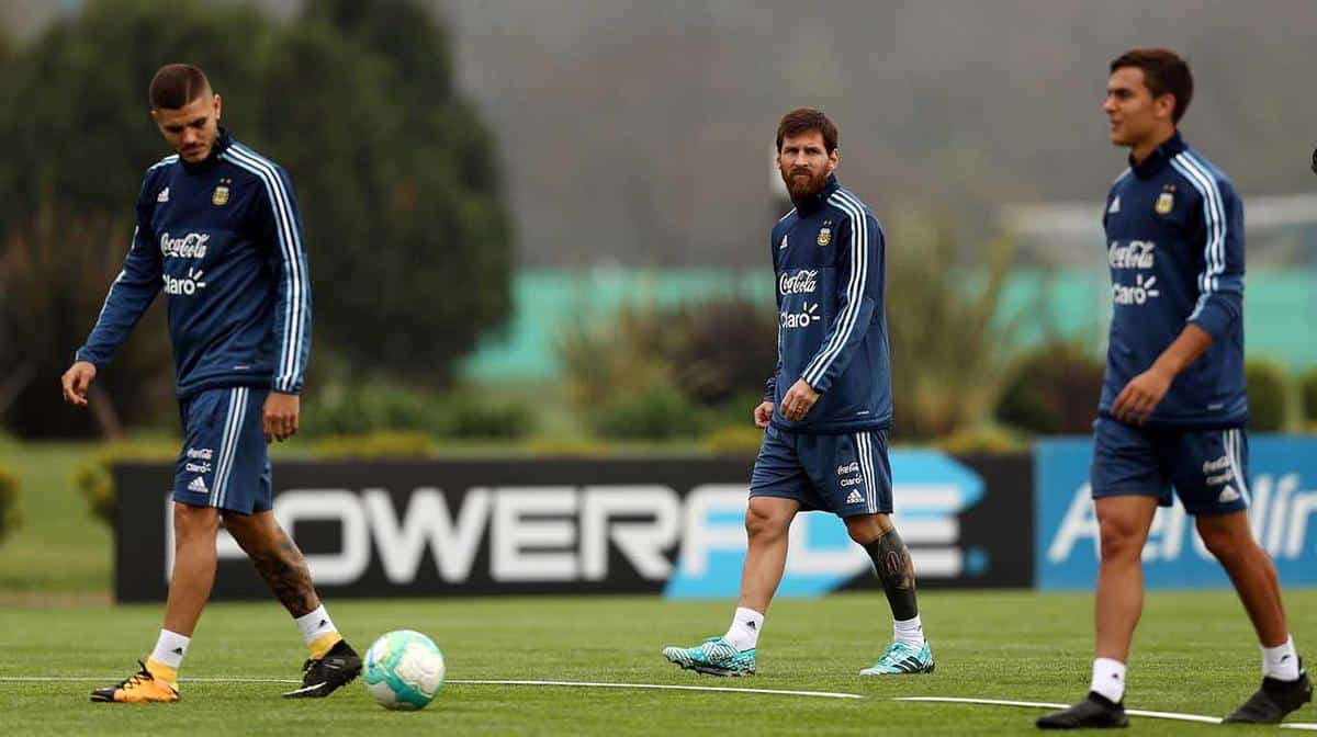 messi dybala icardi - Messi, Aguero, Icardi, Dybala included in Argentina's 35 Man Provisional World Cup Squad