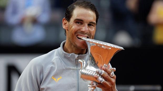 nadal 2 - Rafael Nadal Defeats Alexander Zverev to Win Eighth Italian Open Title