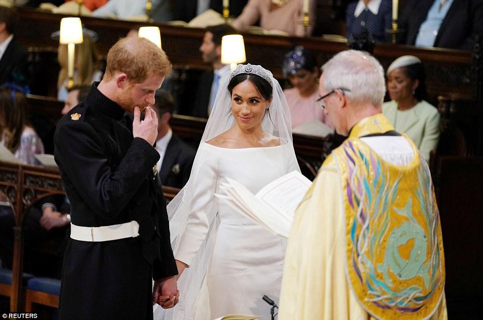PHOTOS: Prince Harry, Meghan Markle Declared Husband and Wife - OkayNG News