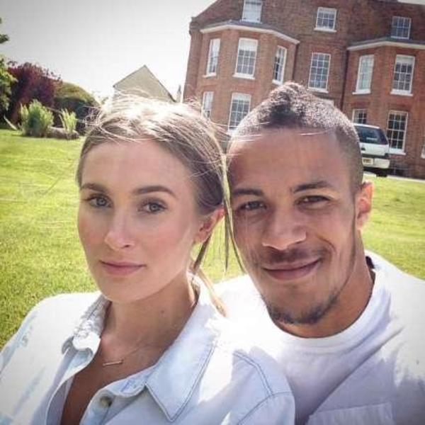 Photo of William Troost-Ekong Shares Cute Photo Of Him And His Pregnant Girlfriend