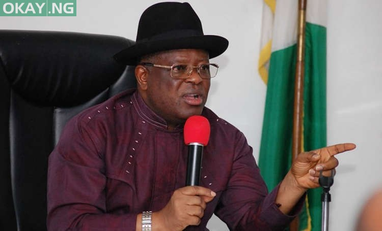 Photo of Ebonyi governor, Dave Umahi tests positive for COVID-19