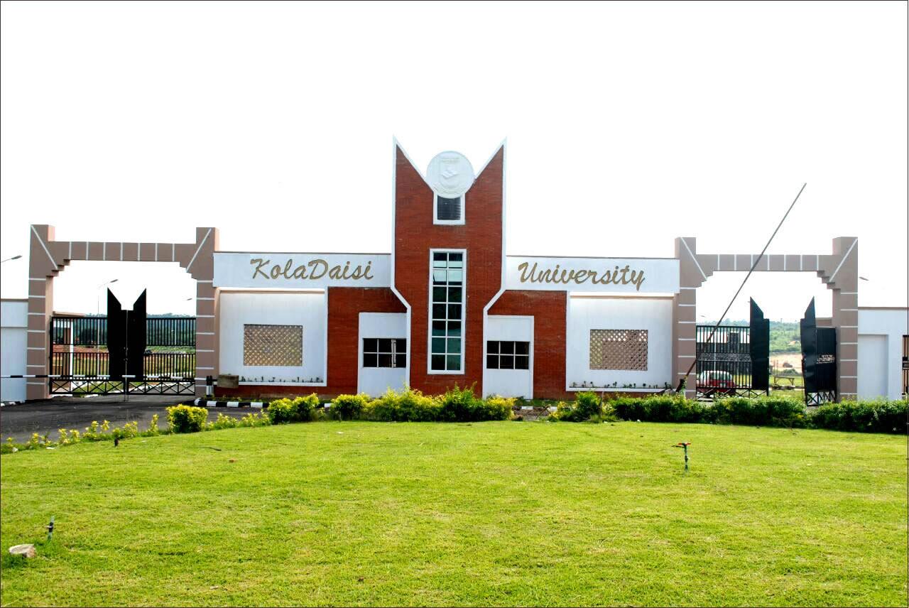 Photo of KolaDaisi University 2018/2019 Post-UTME/DE Screening