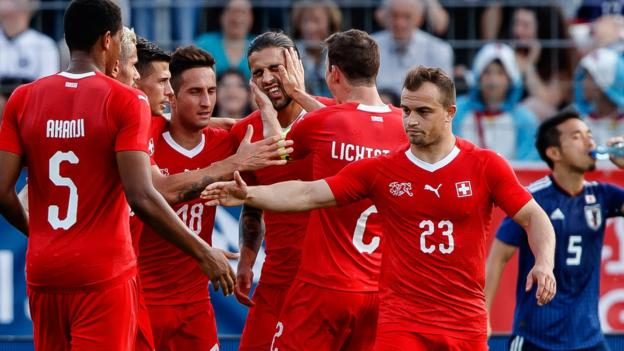 101947808 gettyimages 969793156 - VIDEO: Switzerland 2-0 Japan (Friendly) Highlights