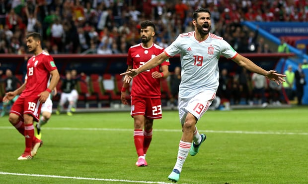 3057 - VIDEO: Iran 0-1 Spain (2018 World Cup) Highlights