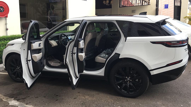 Photo of Ahmed Musa Acquires Latest Range Rover Velar