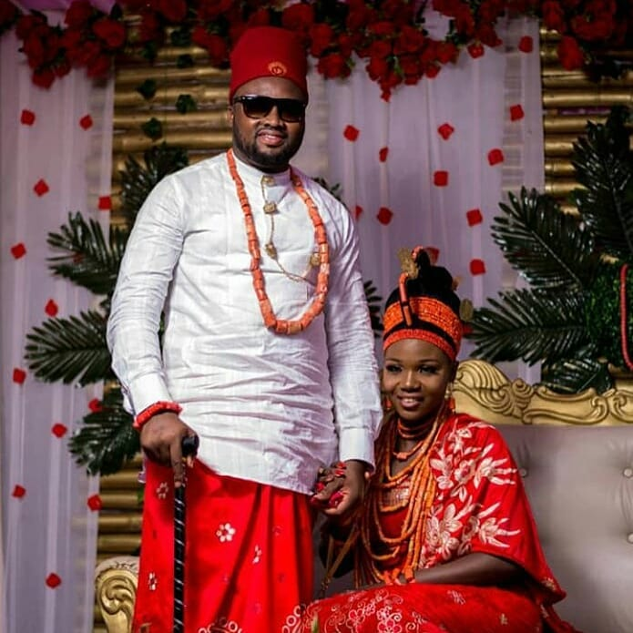34129881 1933383713620368 3901257311947063296 n - PHOTOS: Traditional Marriage of Nollywood Actor, Chuks Omalicha