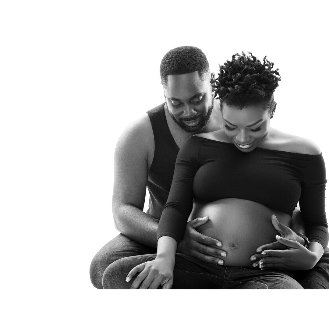 Photo of PHOTOS: Cynthia Kamalu and Her Husband Welcome Their First Child