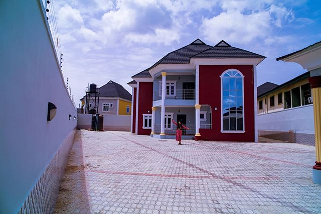 Photo of Actress Mercy Aigbe Buys New House In Lagos (See Photos)